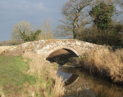 An ancient Roman bridge