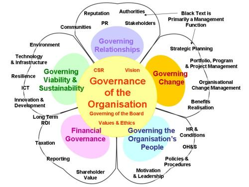 Governance Petal Diagram