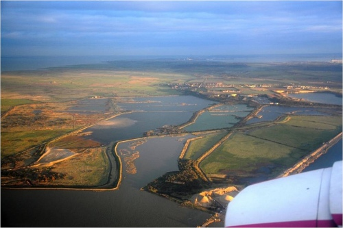Cliffe Pools before the RSPB project